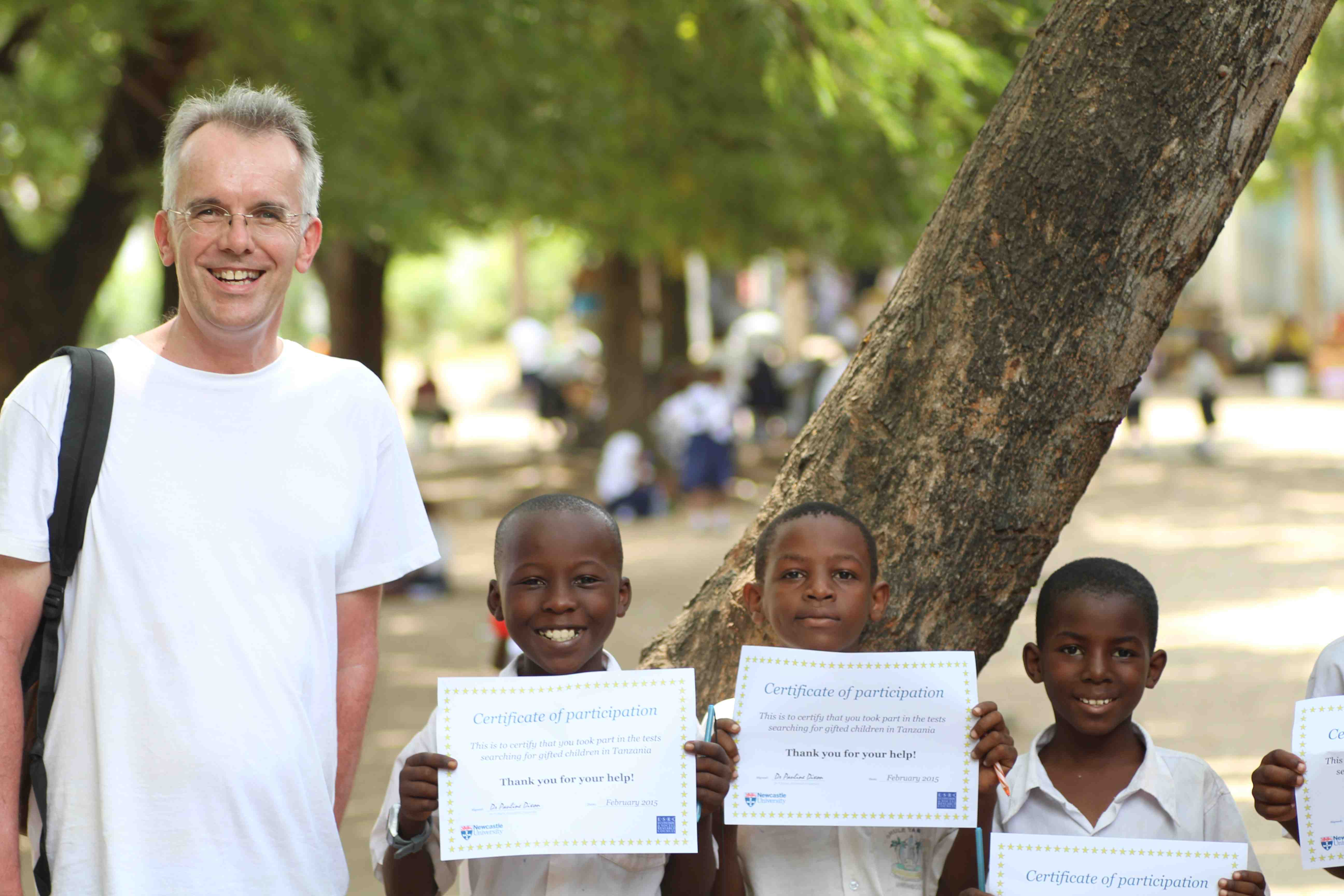 S with three children certificates