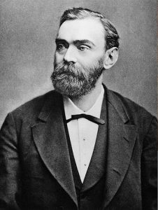 Alfred Nobel. Source: See below